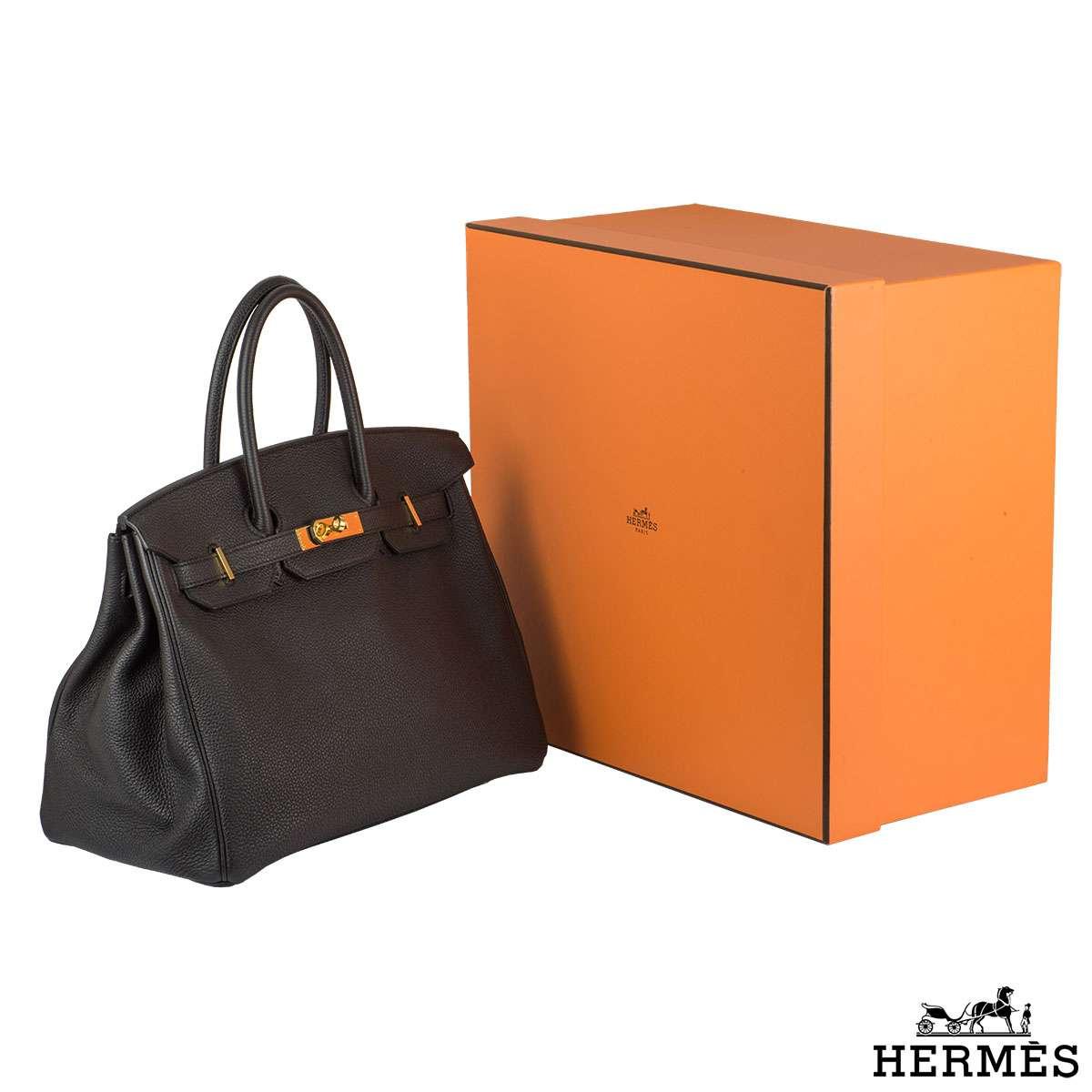 Hermes Birkin 35cm Togo Leather Handbag